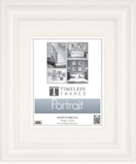 MyFrameStore No.635 Solid Wood Picture Photo//Diploma//Poster Frame White 6351114 11 by 14-Inch