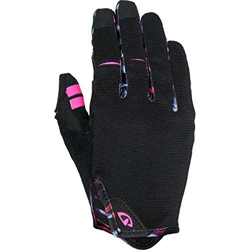 Giro La DND Cycling Glove - Women's Black/Tropical Daze Small ()