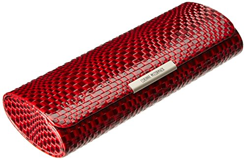 Corinne McCormack Women's Red Geo Magnet Case Square, One Size ()