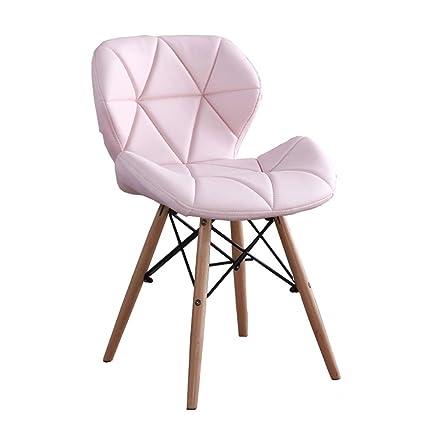 LHL -Moda Creativa cómoda Silla Suave, Silla Plegable, Mesa ...