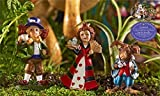 Mini World by Giftcraft Miniature Fairy Garden Wonderland Assortment (Queen) For Sale