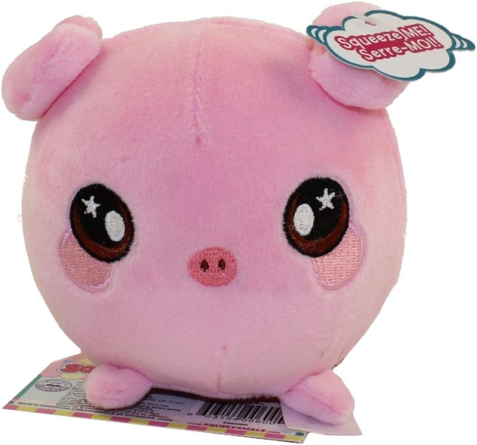 Penelope Pig Squeezamals 3.5-Inch Plush Figure