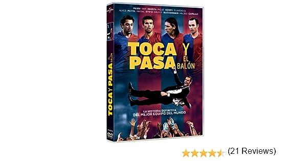 Toca y pasa el balón [DVD]: Amazon.es: Messi, Xavi, Iniesta ...