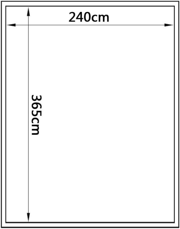 Festnight Serra da Giardino per Pianti in Policarbonato e Alluminio 371 x 250 x 195 cm//430 x 250 x 195 cm//490 x 250 x 195 cm