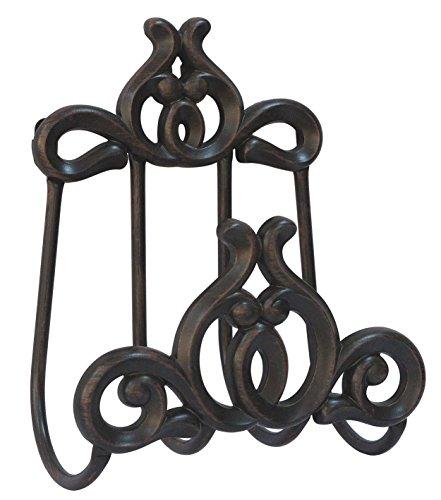 Innova Hearth and Home Austin Hose Hanger in Bronze (Aluminum Hose Cast)