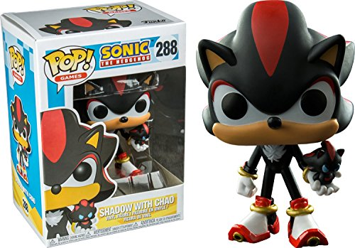 Funko Pop! 288 - Sonic The Hedgehog - Shadow with Chao - Exclusive