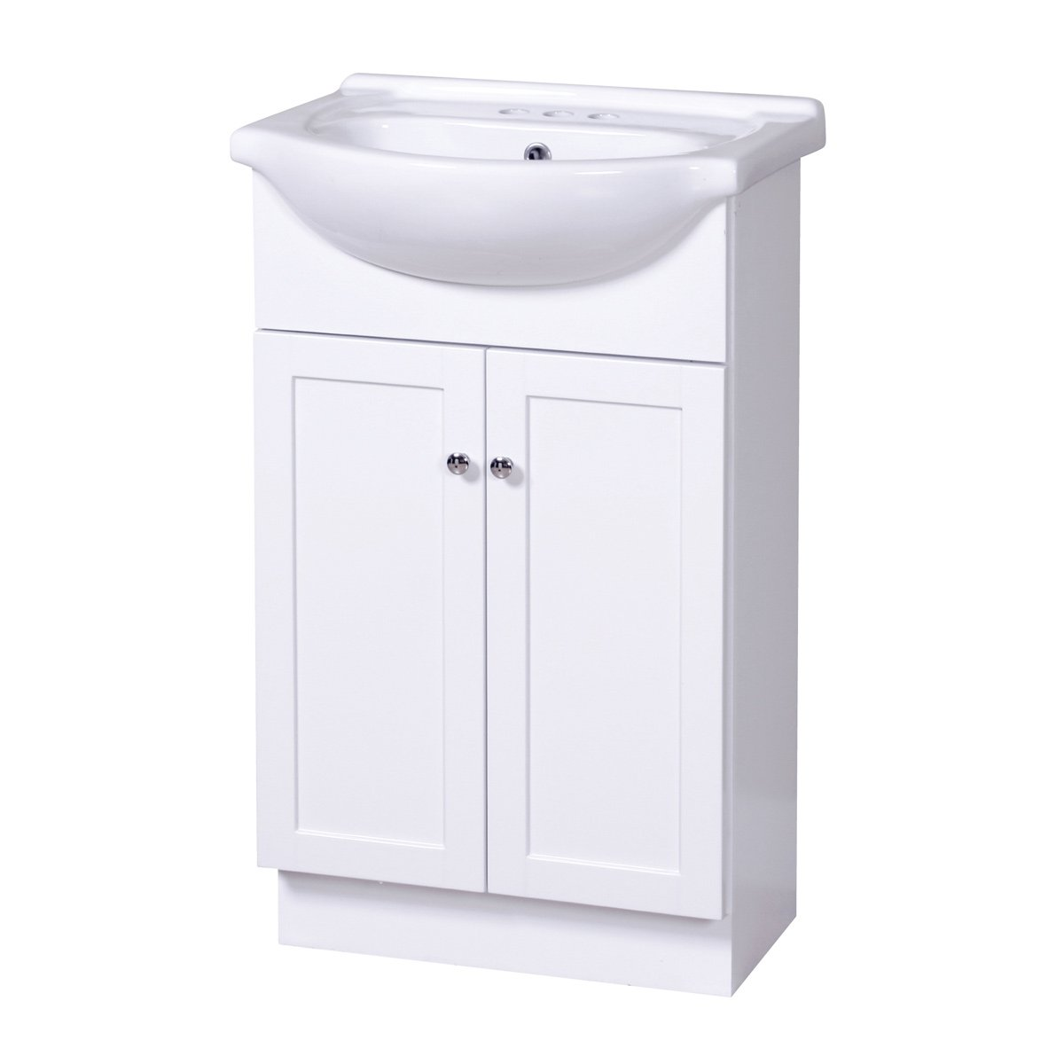 Foremost COWA2135 Columbia White Euro Bath Vanity Combo   Bathroom Vanities    Amazon.com