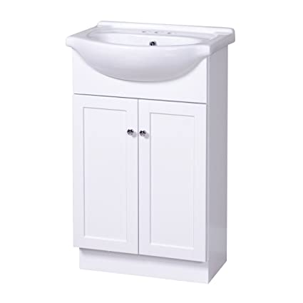 225 & Foremost COWA2135 Columbia Contemporary Bathroom Vanity 21-3/4 In WX 16-1/2 In DX 36-1/4 In H