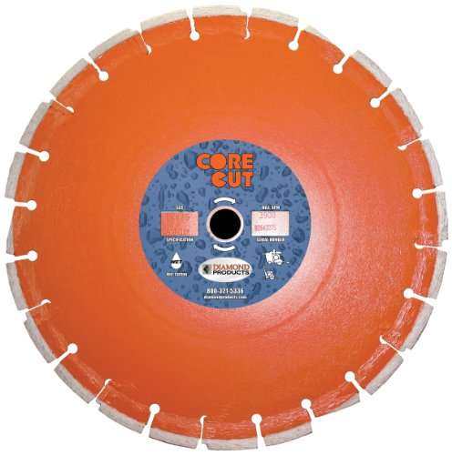 Diamond Products Core Cut 07634DIA Heavy Duty Cured Concr...