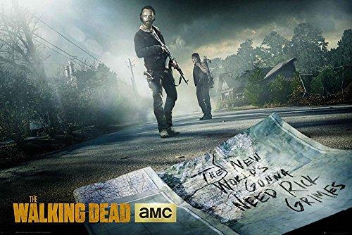The Walking Dead Poster Rick & Daryl Road + a Bora Bora poster!