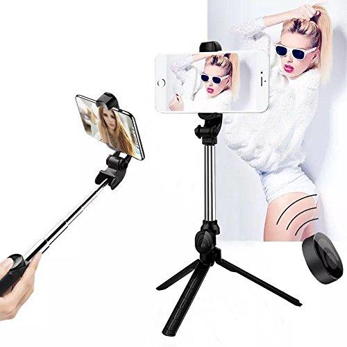 Bluetooth Selfie Stick Tripod,Wireless Remote T...