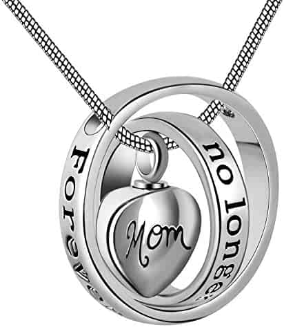 ff762979a7d24d Eternally Loved No longer by my side,forever in my heart carved locket  cremation Urn