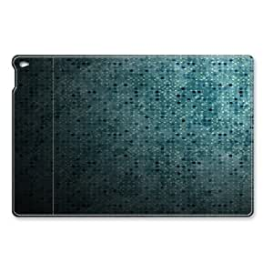 Blue Dots Abstract iPad Air Smart Cover Leather