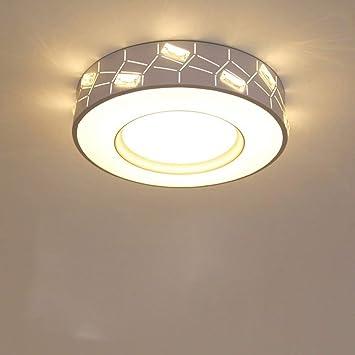DHG Lámpara de Mesa-Dormitorios lámpara de Techo Moderna luz ...