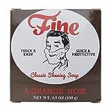 Fine Classic Shaving Soap - L'Orange Noir