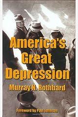 America's Great Depression Hardcover