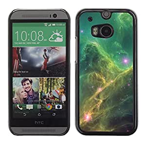 Planetar® ( Mystery Of Fortuna Skies ) HTC One M8 Fundas Cover Cubre Hard Case Cover