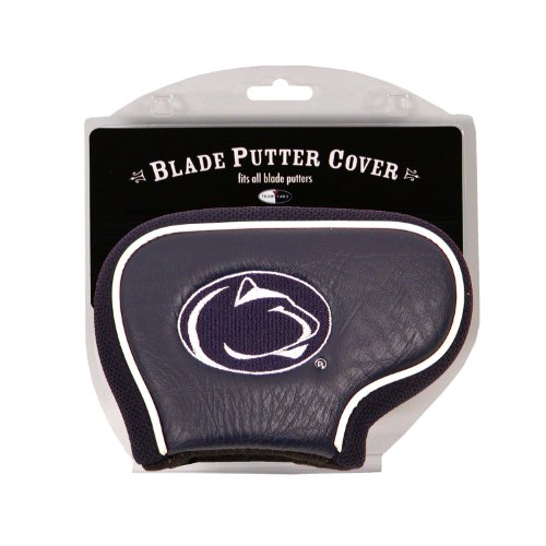 Team Golf NCAA Penn State Nittany Lions Golf Club Blade Putter Headcover, Fits Most Blade Putters, Scotty Cameron, Taylormade, Odyssey, Titleist, Ping, Callaway ()