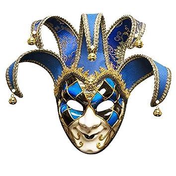 CushionsHome Mano Pintada Halloween Party Máscara Venecia ...