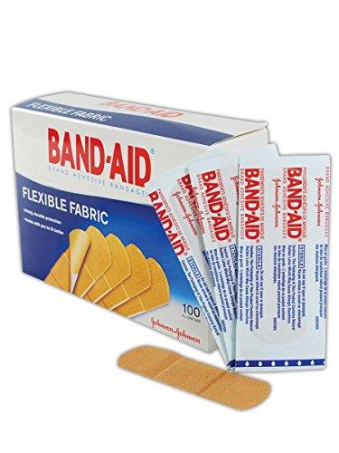 Johnson & Johnson JJ4444 Band-Aid Woven Adhesive Bandages, 1