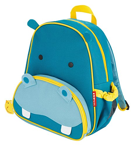 Skip Hop Zoo Little Kid and Toddler Backpack, Herbert Hippo