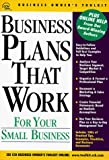 img - for Business Plans That Work for Your Small Business: For Your Small Business (Cch Business Owner's Toolkit Series) by the Small Office (1998-06-03) book / textbook / text book