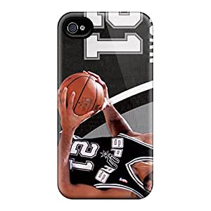 High Quality Hard Cell-phone Case For Iphone 6plus (toT14201bJLI) Customized High-definition San Antonio Spurs Series