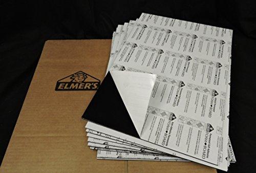 FOAM BOARD - ELMER'S SELF-ADHESIVE BLACK 20