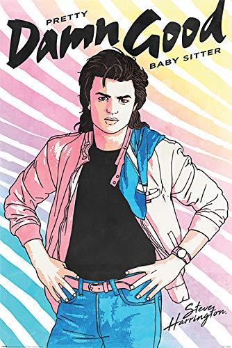Amazon com: Stranger Things - TV Show Poster (Steve Harrington