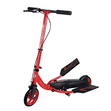 Amazon.com: ZAQ Stepper Scooter Bike Red, Boys and Girls 8 ...