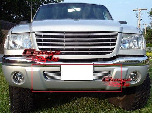 APS Fits 01-03 Ford Ranger Edge/Ranger 4WD Lower Bumper Billet Grille #N19-A43458F ()