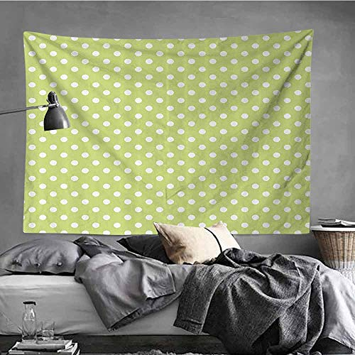 AndyTours DIY Tapestry,Polka Dots Home Decor Collection,Wall Tapestry for Bedroom,19