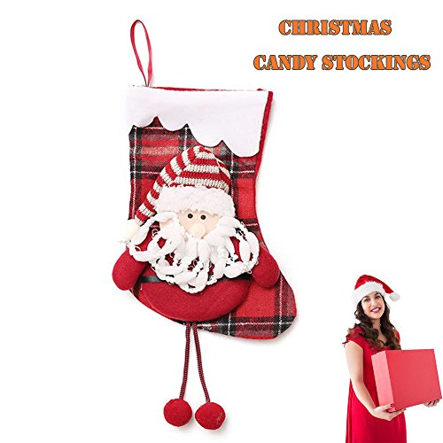 Cuff Christmas Stocking - Christmas Stocking, Keep 10