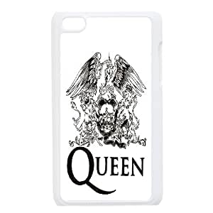 Band Poster QUEEN Hard Plastic phone Case Cover FOR IPod Touch 4 ART168540