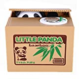 Stealing Coin Cat Money Box Panda Bank Piggy Bank Money Coin Penny Cents Saving (Panda)