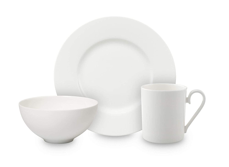 Villeroy & Boch Royal Set de Desayuno, Premium Bone Porcelano, Blanco: Amazon.es: Hogar