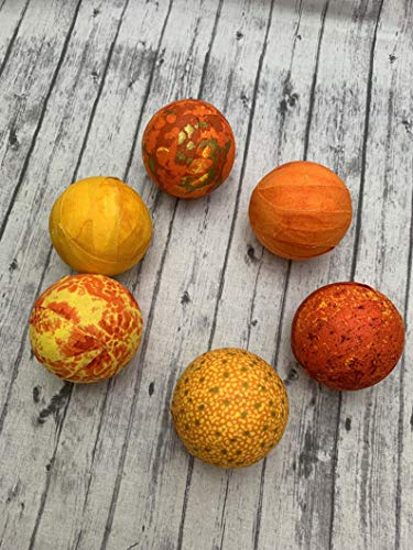 - Sunrise Sunset Fabric Wrapped Balls- bowl filler