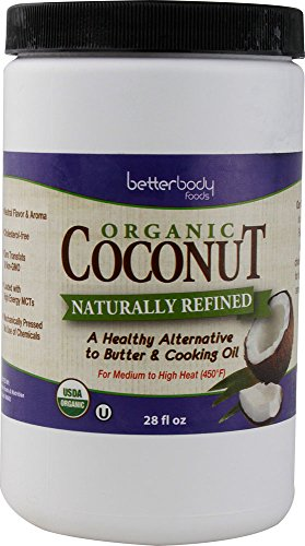 Better Body Organic Coconut Oil Naturally Refined For Hair