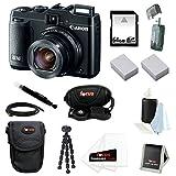 Canon PowerShot G16 - Amazing Digital Camera Bundle