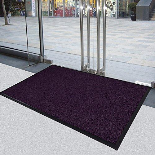 Shaggy Anti-skid Carpets Rugs Floor Mat/Cover 80x120cm Purple - 6