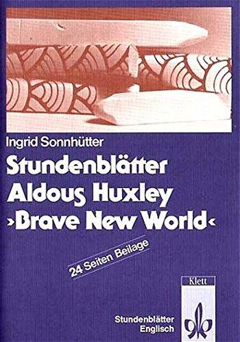 Stundenblätter Aldous Huxley