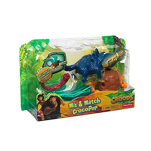 The Croods Toys R Us : Fisher price dreamworks the croods mash up crocopup
