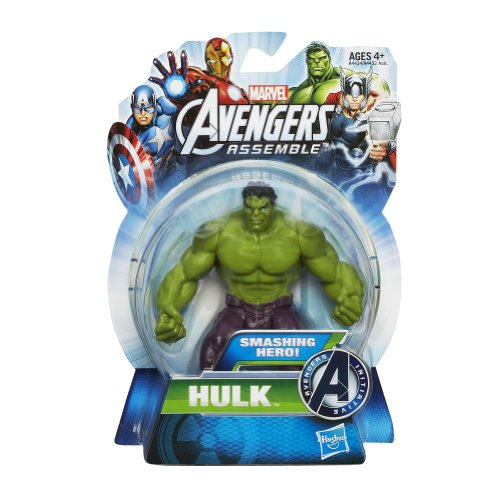 Hasbro Marvel The Avengers All-Star Hulk 4 inch Action Figure (Action Avenger Hulk Figures 4in)