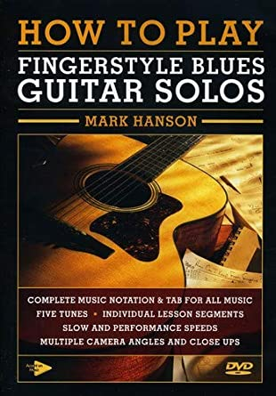 Amazon com: How To Play Fingerstyle Blues Guitar Solos: Mark