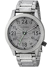 Mens EW0010010037 FW01 Stainless Steel Analog Japanese Quartz Grey Watch