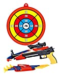CHIMAERA Chi Mercantile Junior Archery Crossbow with Scope and Target Complete Set for Indoor or Outdoor Play