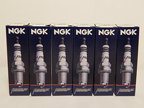 NGK 6418 Iridium Spark Plugs BKR6EIX ---6 PCS * NEW * - Audi Cabriolet Spark Plug