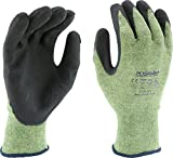 West Chester 713KSSN/L 13g Kevlar/Steel Cut Resistant Glove, Green, Large (Pair of 12)