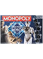 Doctor Who Monopoly Villains Edition Board Game