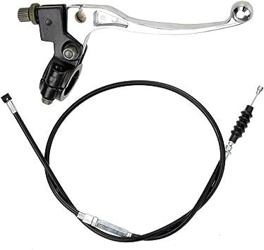Minireen Universal 22mm Handlebar Clutch Lever for 50cc 70cc 90cc 110cc 125cc ATV Quad Dirt Bike Pit Bike